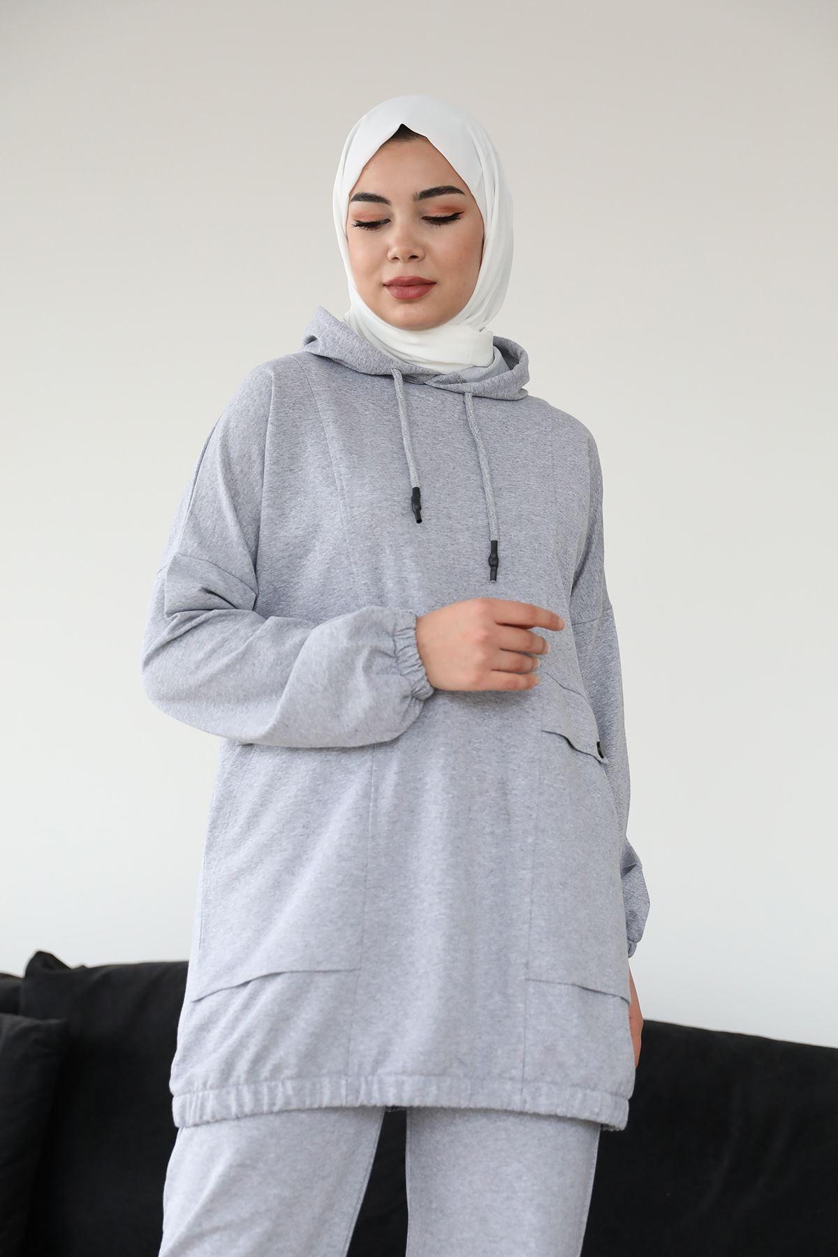 Cepli Sweatshirt-Gri