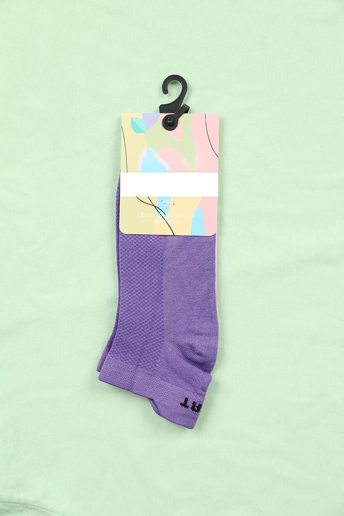 Tencel Çorap-Mor