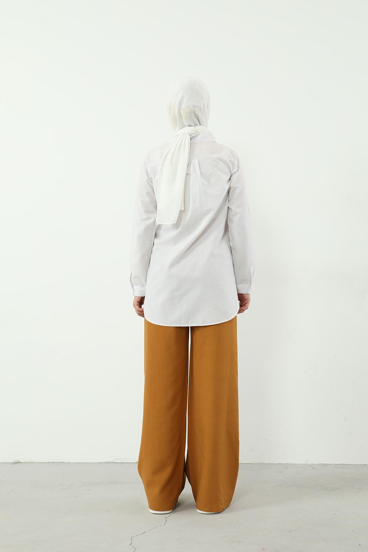 Bol Paça Pantolon-Camel