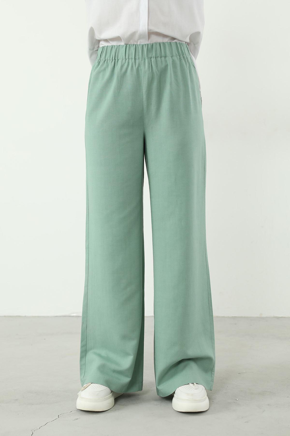 Bol Paça Pantolon-Mint