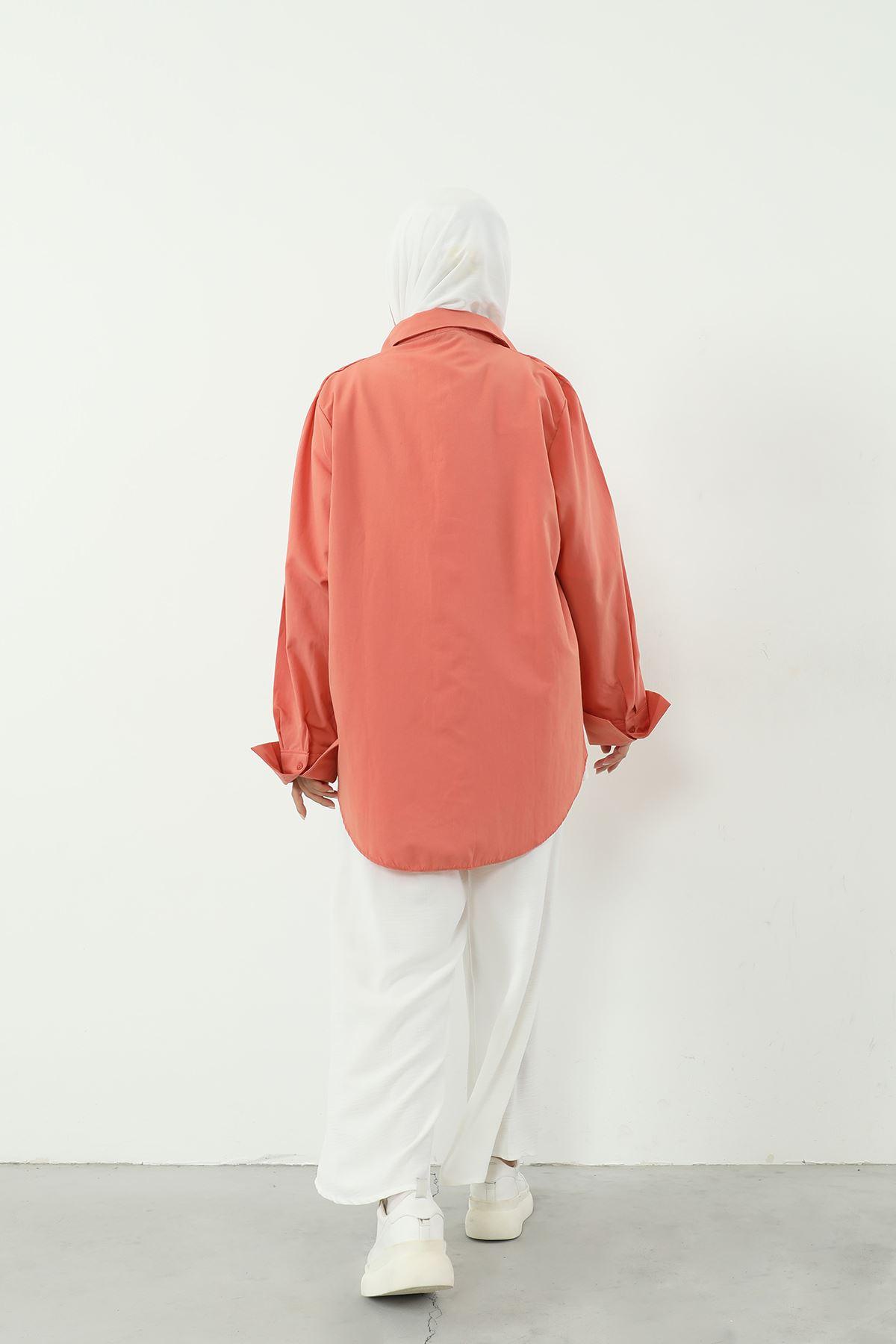 Poplin Gömlek-YAVRU AĞZI